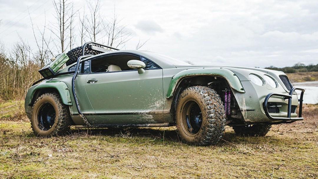 Du Zombie Crush en Bentley Continental GT... 20
