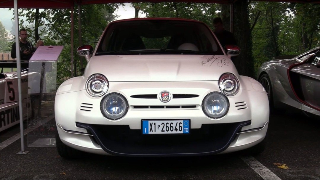 Fiat 500 Giannini 350 GP... Italienne sous amphet' ! 25