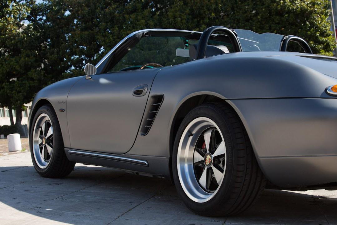 Porsche ItalSteelArt... Boxster + 356 = RetroMod ! 17