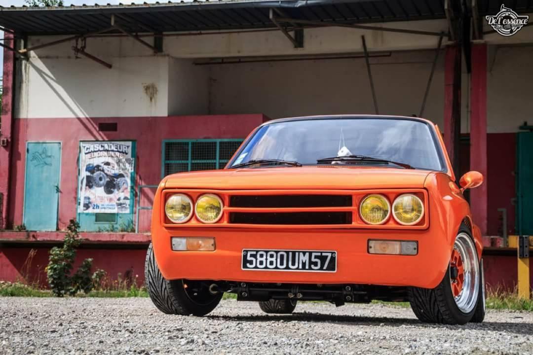 Peugeot 104 ZS sous stéroïdes ! 50