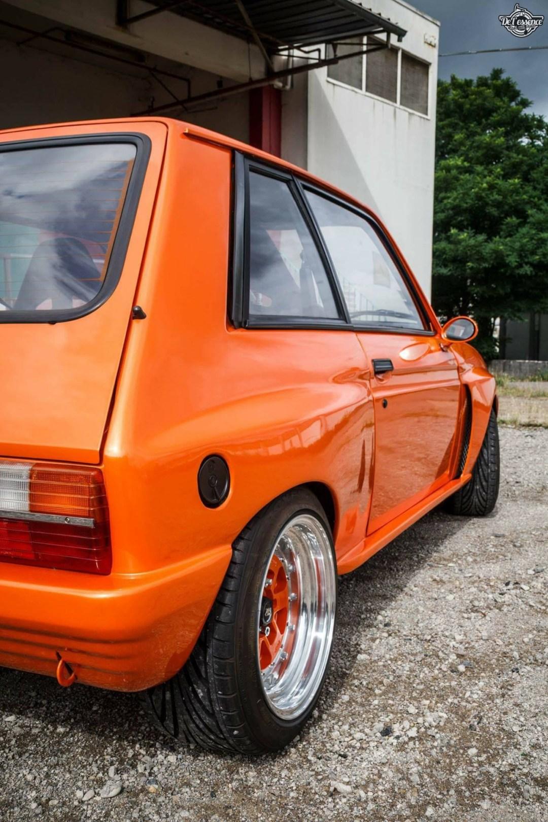Peugeot 104 ZS sous stéroïdes ! 52