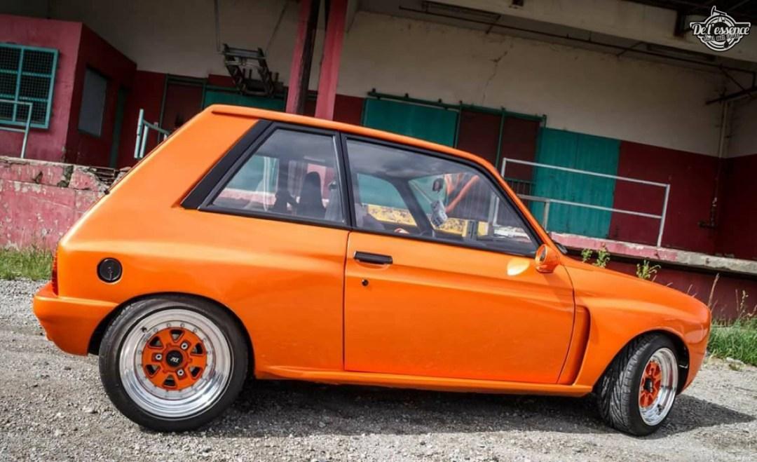 Peugeot 104 ZS sous stéroïdes ! 44