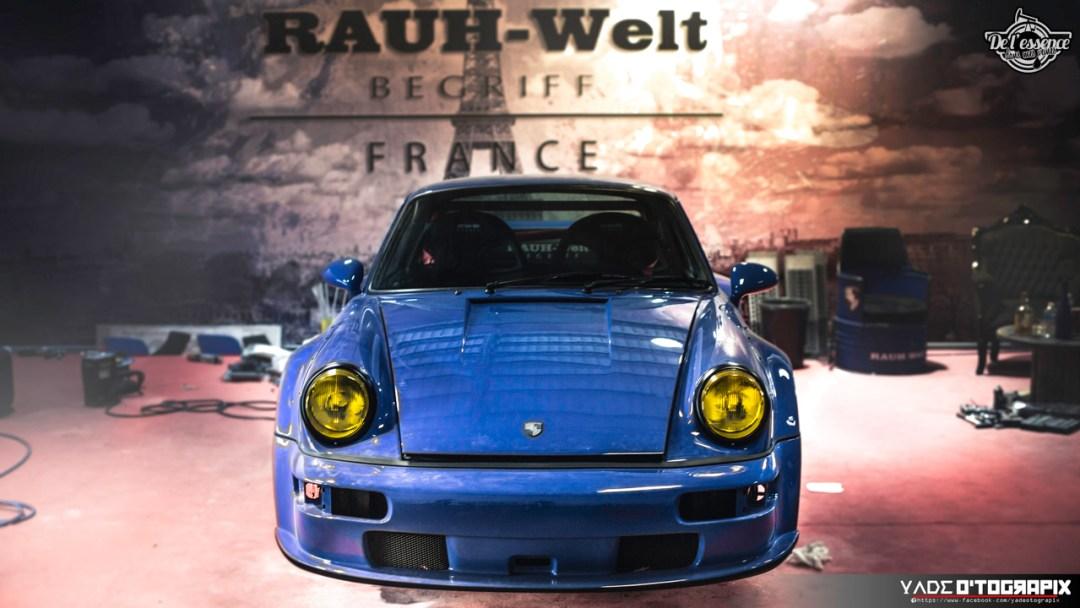 1ère Porsche 964 RWB France... Champagne ! 127
