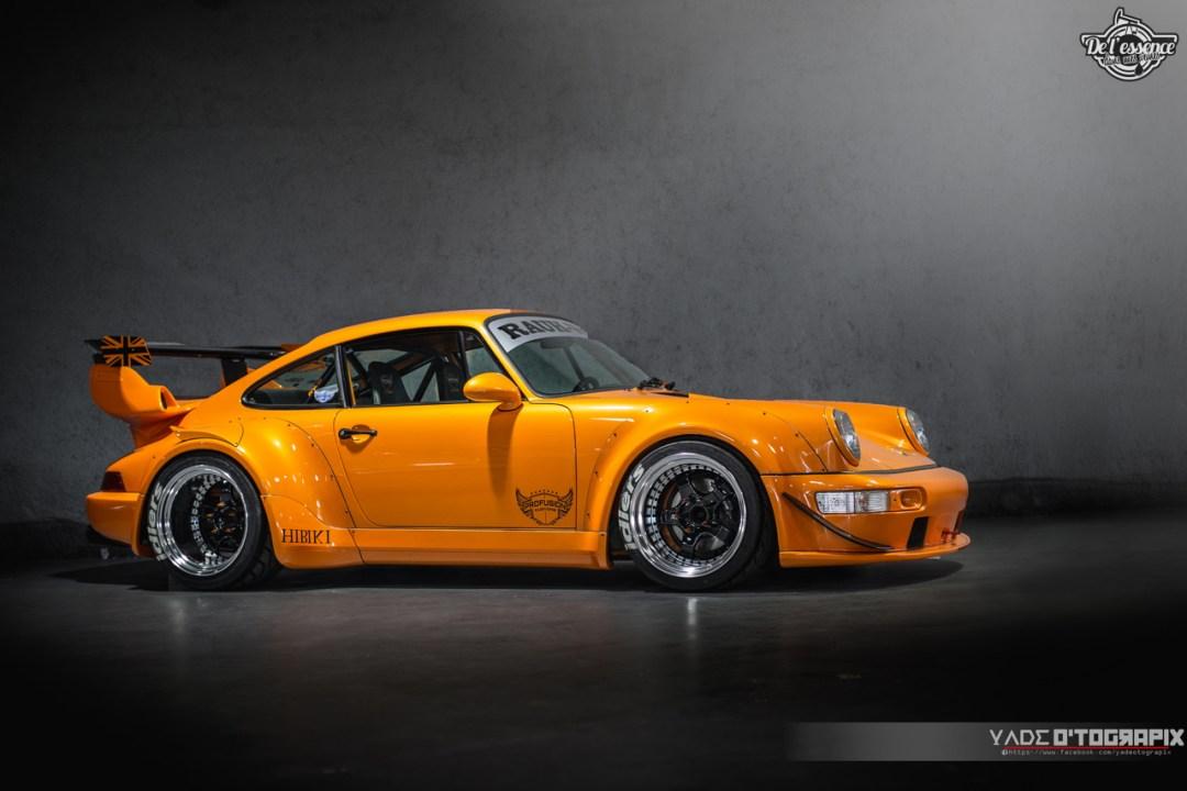 1ère Porsche 964 RWB France... Champagne ! 122
