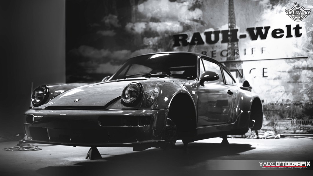 1ère Porsche 964 RWB France... Champagne ! 118