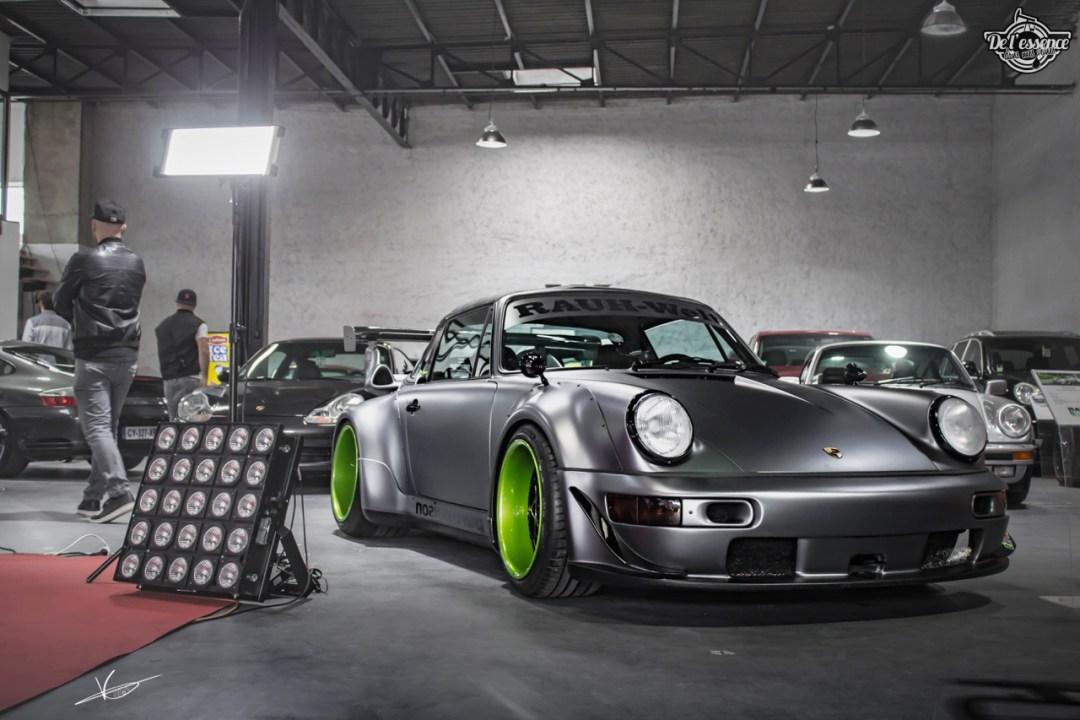 1ère Porsche 964 RWB France... Champagne ! 120