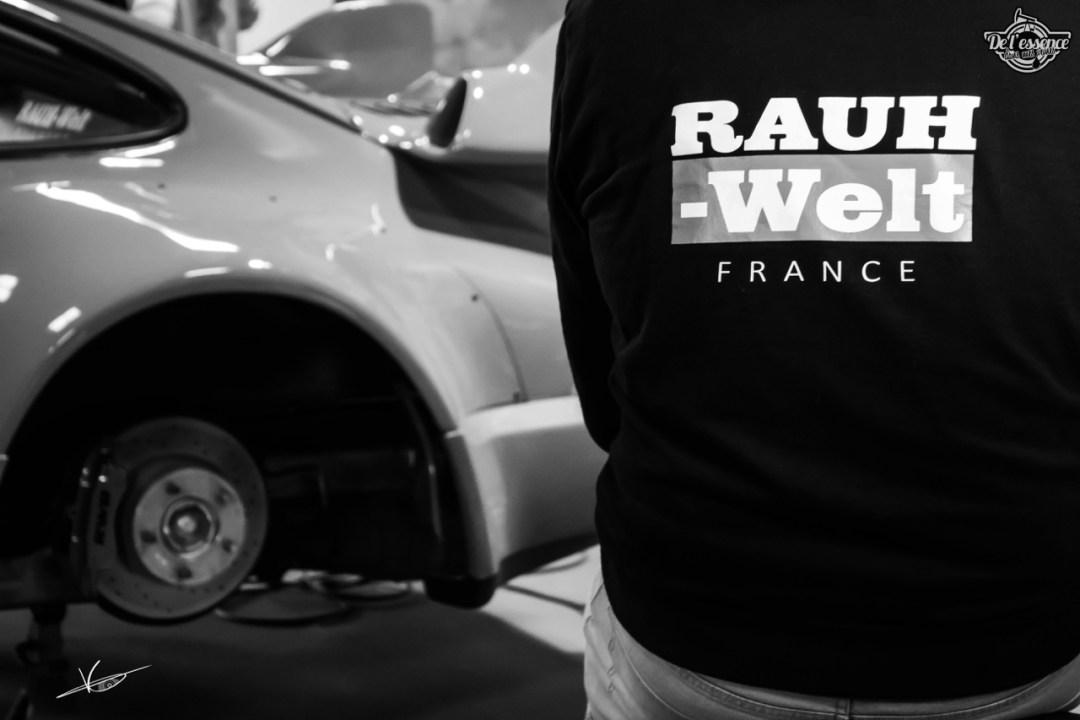 1ère Porsche 964 RWB France... Champagne ! 96