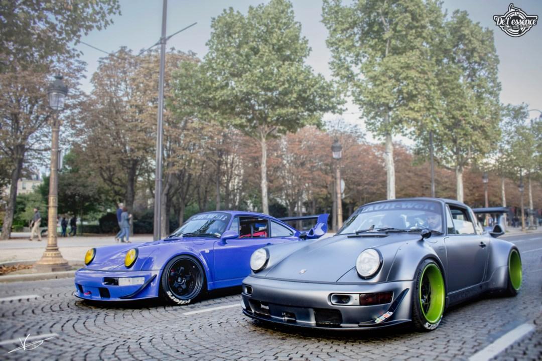 1ère Porsche 964 RWB France... Champagne ! 119