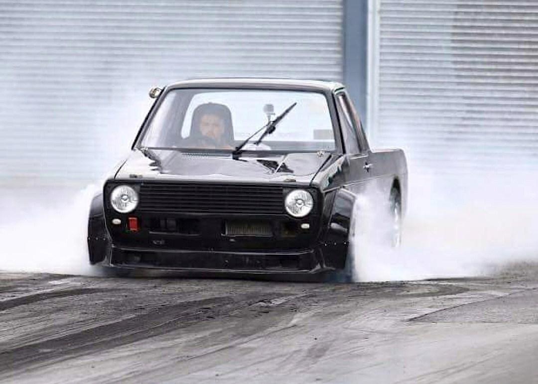 Hillclimb Monster : VW Caddy... ben oui, pour faire les courses ! 7