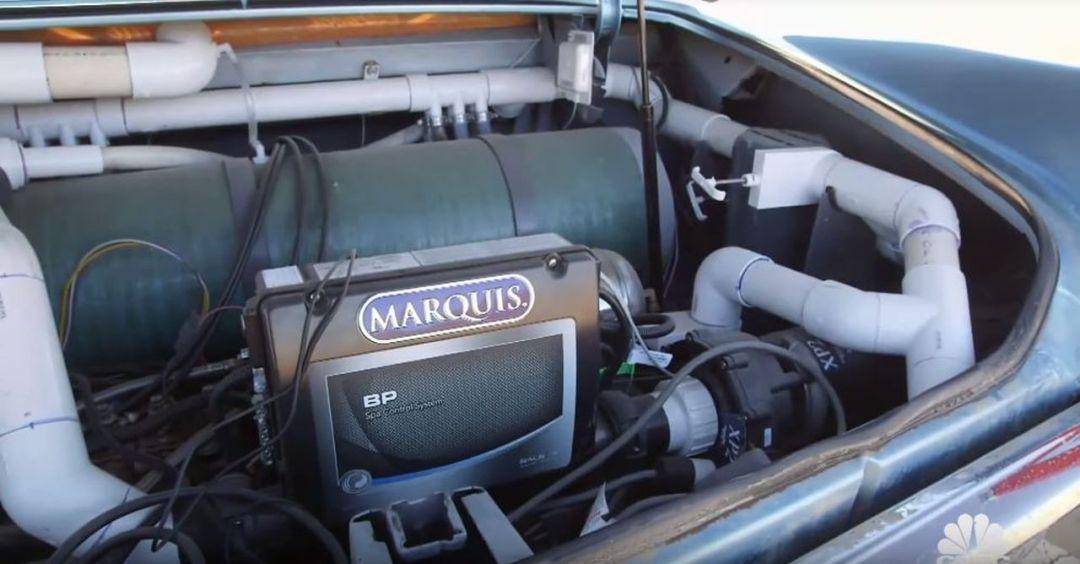69' Cadillac DeVille - Besoin de fraîcheur ? Avec Jay Leno ! 33