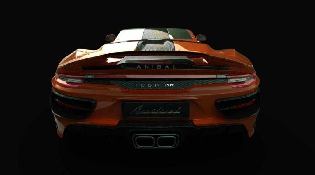 Anibal Icon : Une Porsche 911 de boucher ! 36