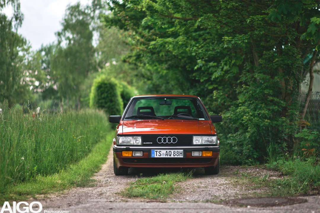 Audi 90 Quattro - Low & slow en BBS 23
