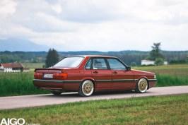 DLEDMV - Audi 90 low & slow en BBS - 018