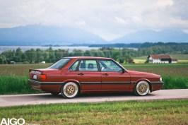 DLEDMV - Audi 90 low & slow en BBS - 022