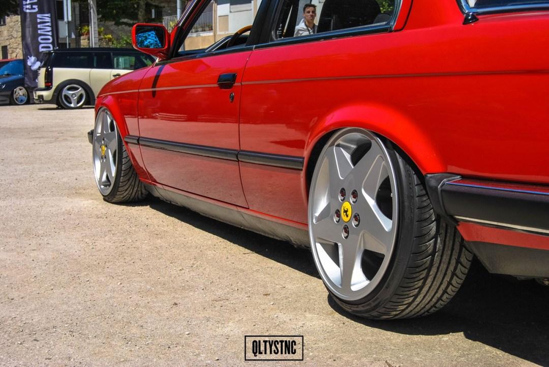 Une BMW E30 chaussée en Ferrari ! 25