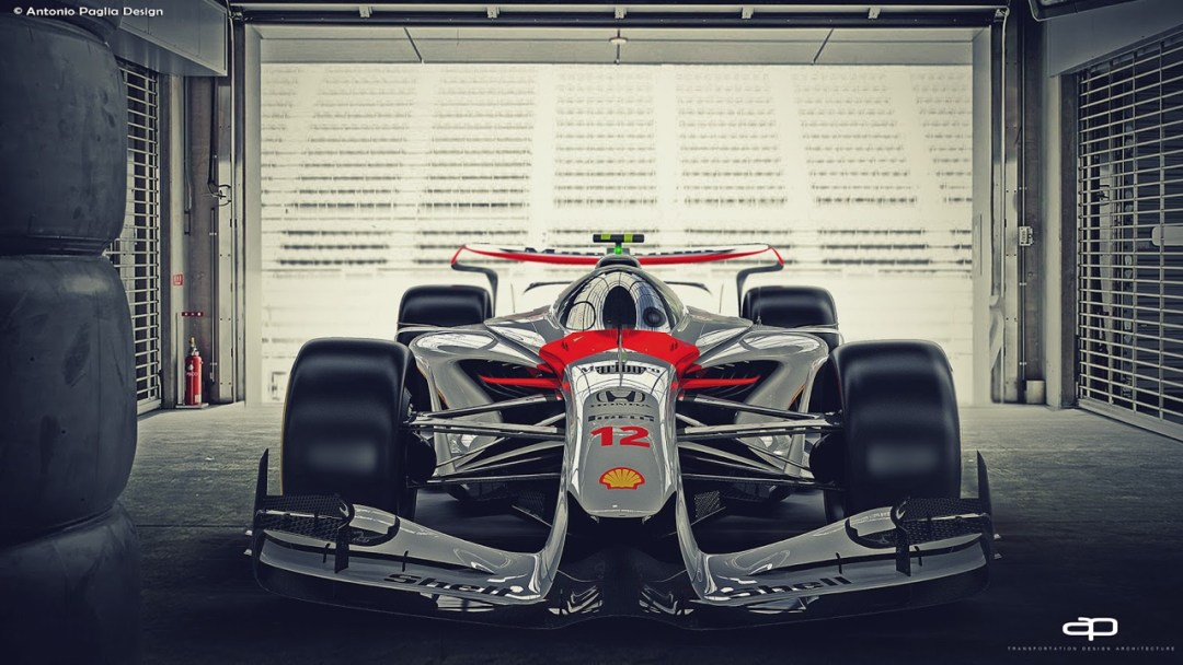 F1 Vision Concept par Antonio Paglia : La F1 de 2025... 22