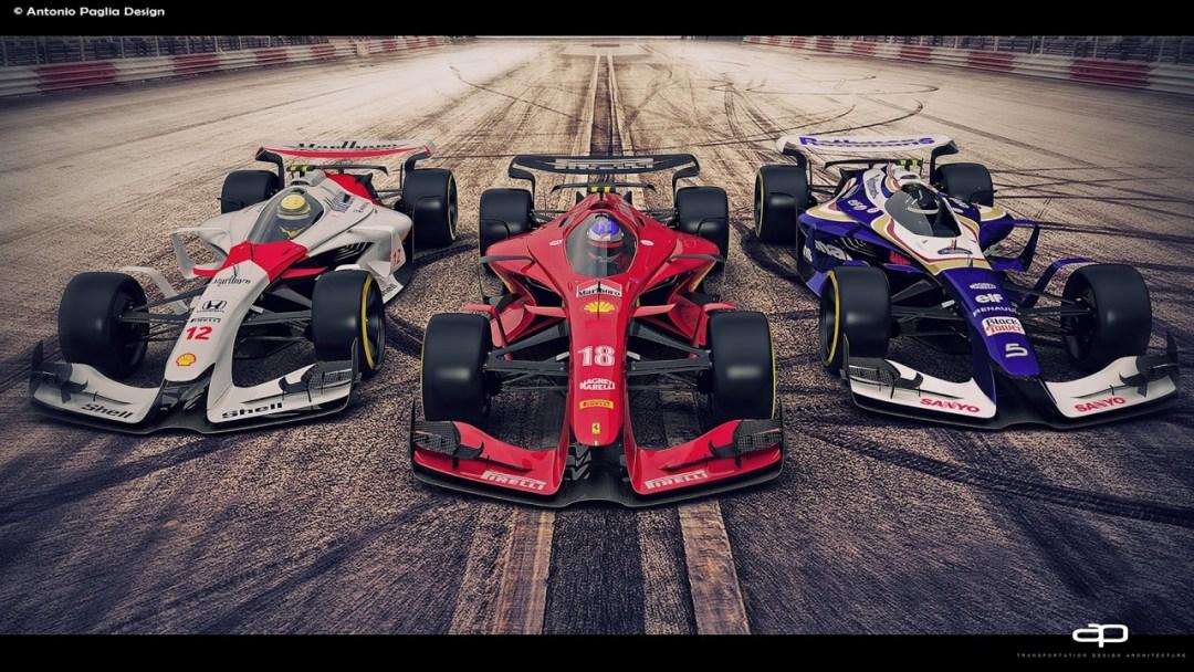 F1 Vision Concept par Antonio Paglia : La F1 de 2025... 18