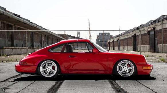 DLEDMV - Red Porsche 964 C4 Hartmann 00004