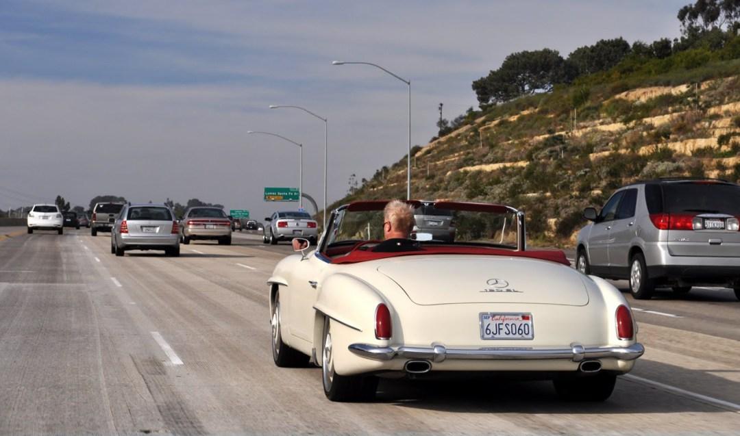 """'61 Mercedes 190 SL... La """"Mercedes Bent"""" un peu spéciale ! 38"""