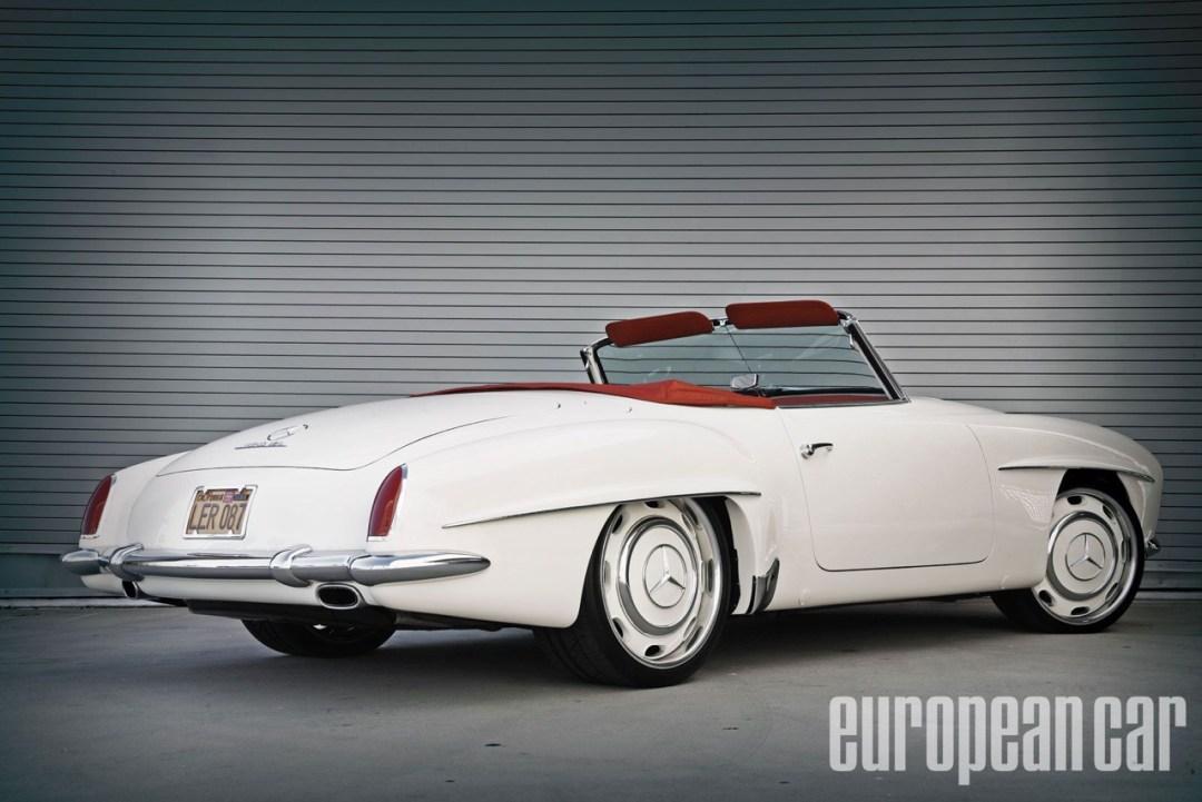 """'61 Mercedes 190 SL... La """"Mercedes Bent"""" un peu spéciale ! 40"""