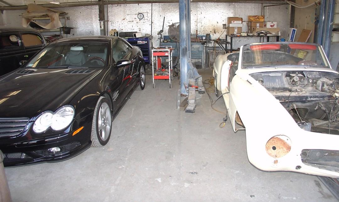 """'61 Mercedes 190 SL... La """"Mercedes Bent"""" un peu spéciale ! 31"""