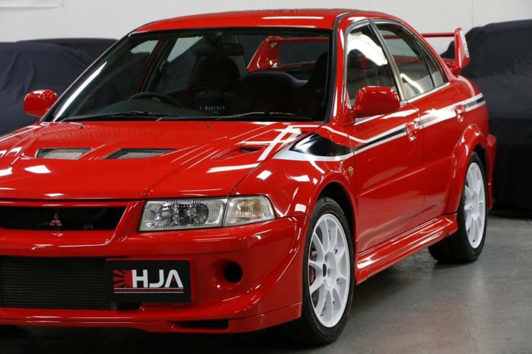 Mitsubishi Lancer Evo 6 Tommi Makinen Edition : ADN de championne 46
