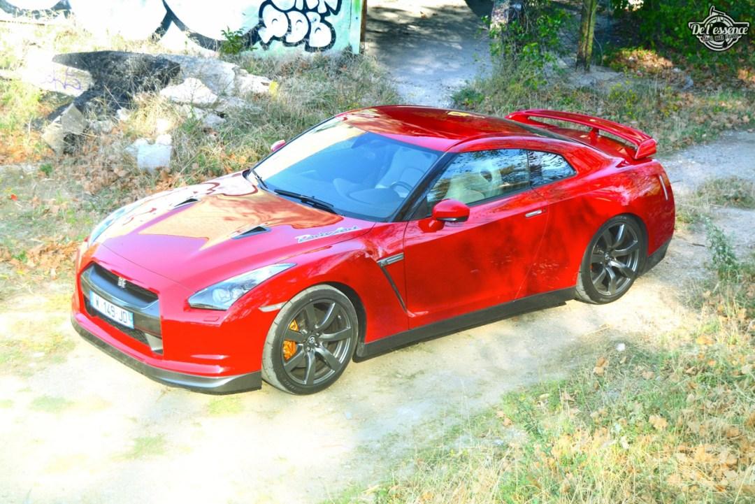 Nissan GTR R35 : Godzilla voit rouge ! 107