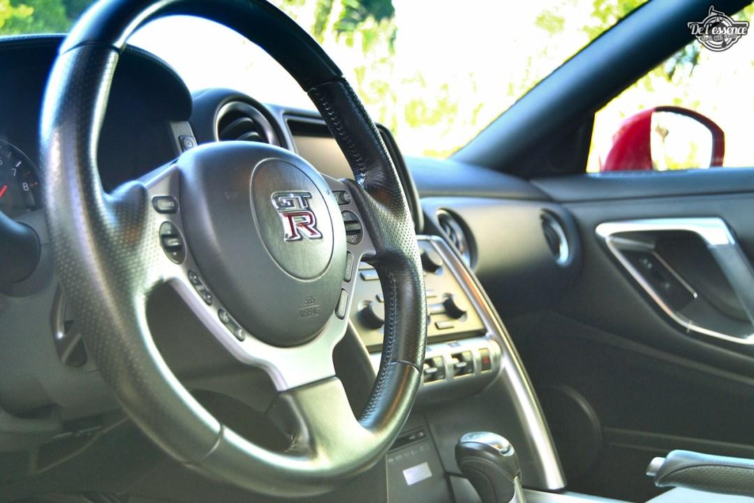 Nissan GTR R35 : Godzilla voit rouge ! 91