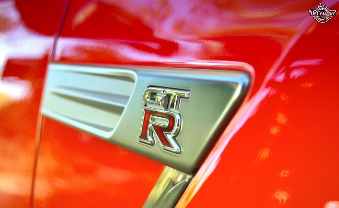 Nissan GTR R35 : Godzilla voit rouge ! 106