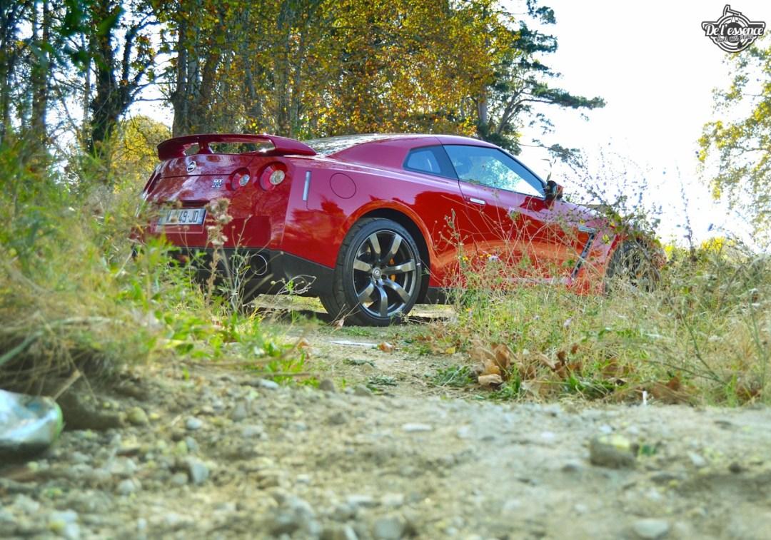 Nissan GTR R35 : Godzilla voit rouge ! 100