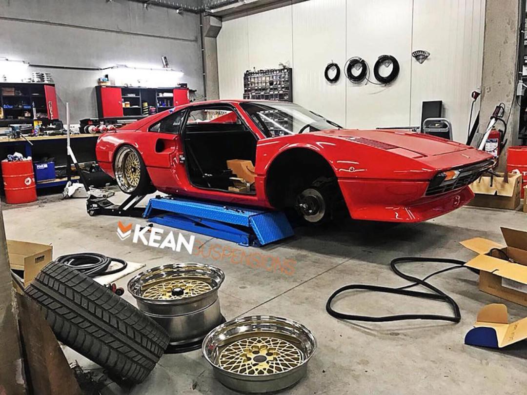 Bagged Ferrari 308 GTB... Air Magnum ! 34
