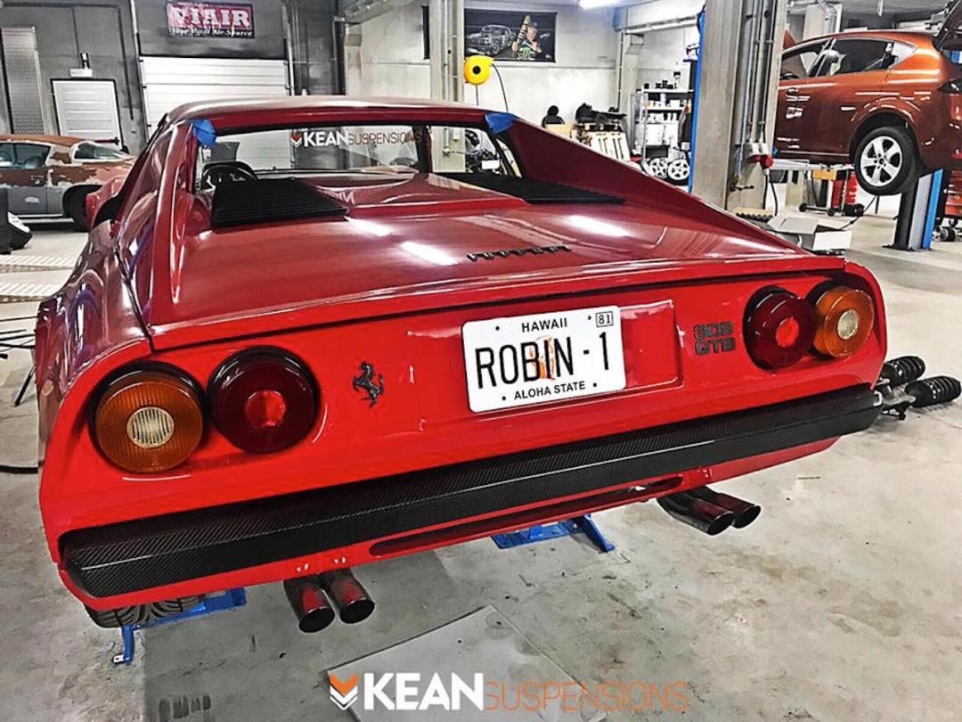 Bagged Ferrari 308 GTB... Air Magnum ! 32