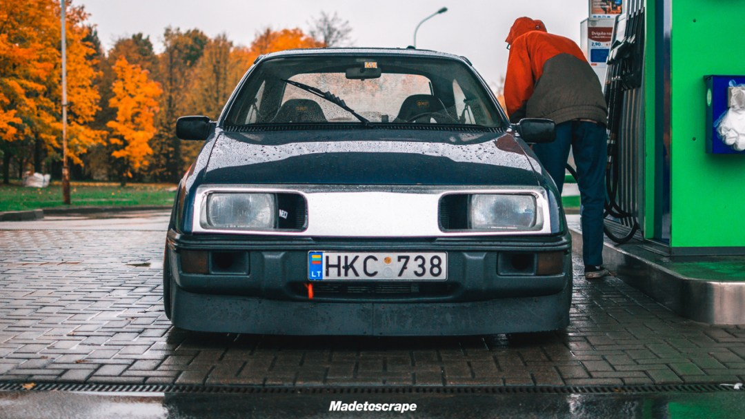Justa '85 Ford Sierra V6 Cosworth : Bestiale ! 79