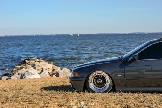 DLEDMV 2K18 - BMW E39 Slammed on BBS - 009