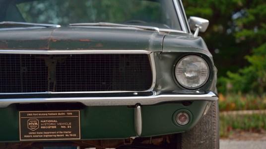 DLEDMV 2019 - Ford Mustang Bullitt Mecum - 008