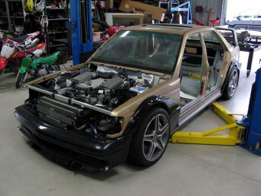 DLEDMV 2K18 - Mercedes 190 Evo 2 63 AMG Piper Motorsport - 05