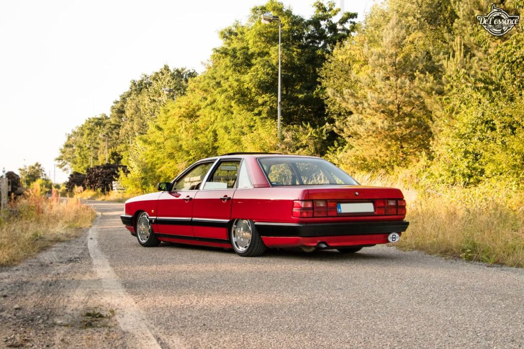 DLEDMV 2K19 - Audi 100 Slammed Loyalty - 032