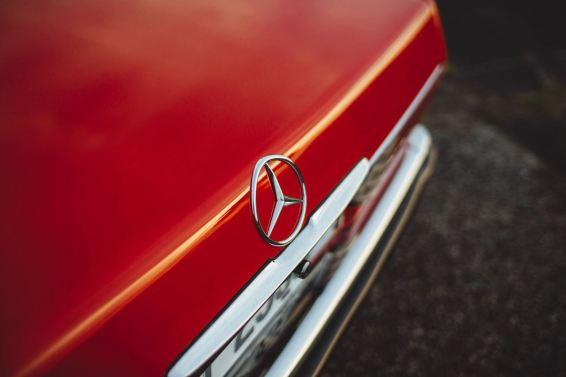 DLEDMV 2K19 - Mercedes 300 SL R107 Slammed BBS - 002
