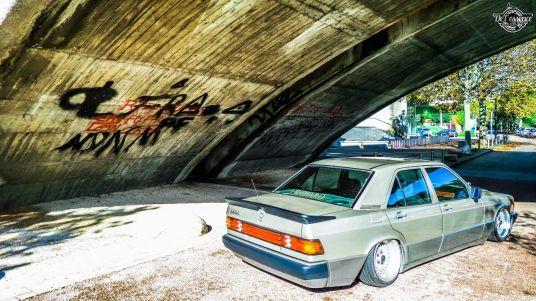 DLEDMV La Mercedes 190de JC – Violence visuelle 09