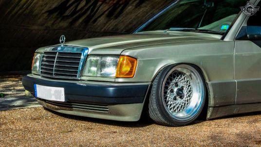 DLEDMV La Mercedes 190de JC – Violence visuelle 19