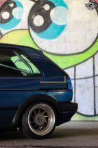 DLEDMV La Volkswagen Golf II swap III GTI de Florian 11