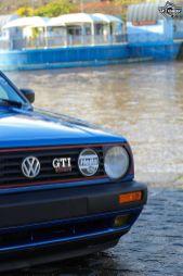 DLEDMV La Volkswagen Golf II swap III GTI de Florian 22