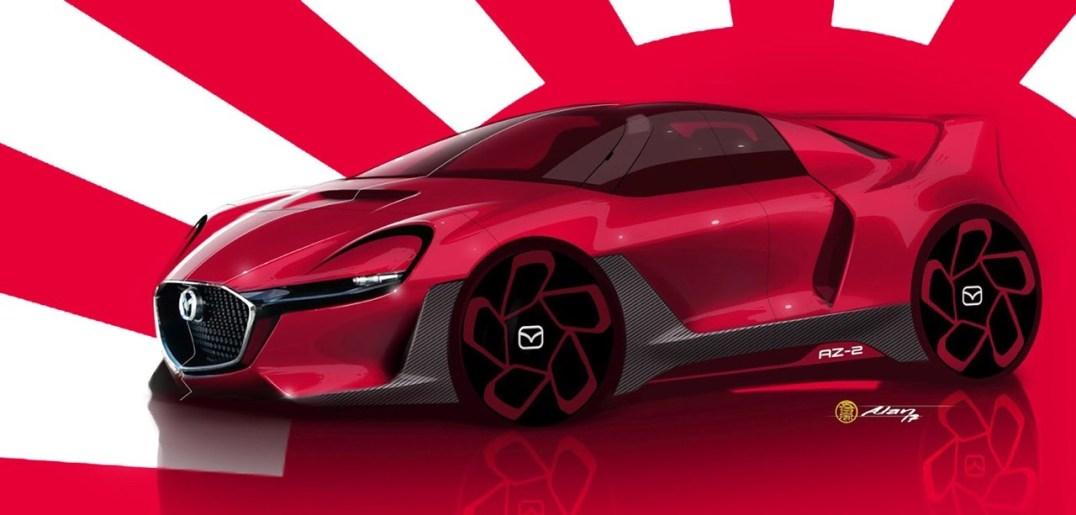 DLEDMV 2021 - #Petrolhead Alan Derosier - Mazda AZ2 - 002