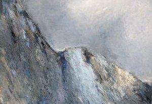Le Pain de Sucre (Queyras) - huile sur toile - 130x89cm