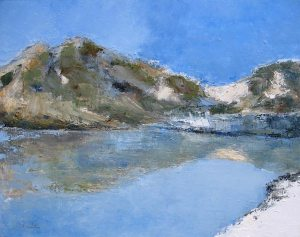 La grande Casse (Parc de la Vanoise) - huile sur toile - 92x73cm - collection particulière