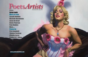 PoetsArtists #40 . Figurative arts and jazzy poems . Novembre 2012