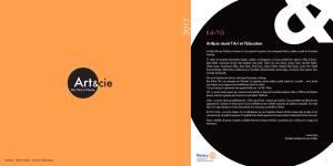 Catalogue Exposition Art&cie 2017 - Edito : Art&cie réunit l