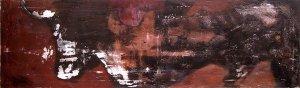 acrylique sur toile - 140x40cm - collection particulière