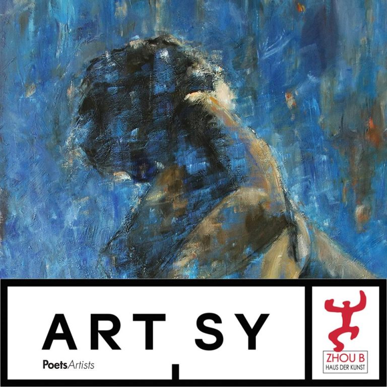 In Current Show on ARTSY . The New Nude. Show with PoetsArtists . ZHOU B ART CENTER . Chicago . USA