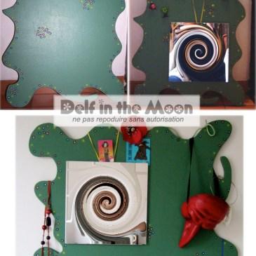 Miroir magnétique vert